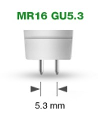 fitting GU5.3 MR16